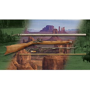 Great Plains Hawken Steinschloss-Rifle Kit 170 im Kaliber .45, .50, .54