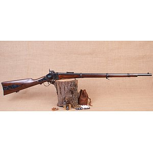 1859 Sharps Infantry Rifle Kal. .54 von Armi Sport mit Patchbox