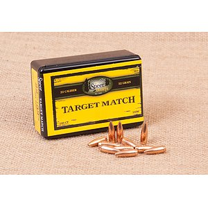 Speer Boat-Tail Match Geschosse .22/.224/52 gr