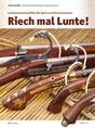 Artikel über Luntenschlosswaffen aus der Zeitschrift Visier